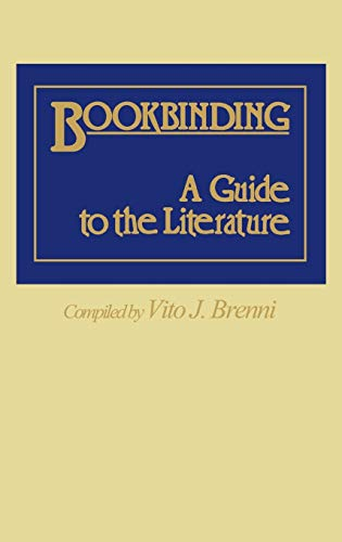 9780313237188: Bookbinding: A Guide to the Literature