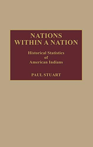 9780313238130: Nations Within a Nation: Historical Statistics of American Indians