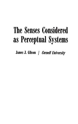 9780313239618: The Senses Considered as Perceptual Systems