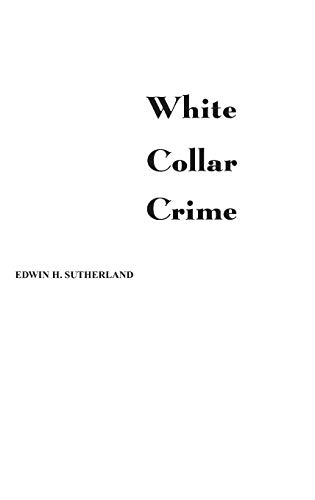 9780313242274: White Collar Crime