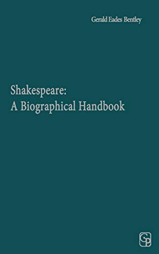 9780313250422: Shakespeare: A Biographical Handbook (Yale Shakespeare Supplements)