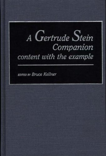 9780313250781: A Gertrude Stein Companion: content with the example