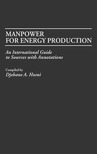 Manpower for Energy Production: An International Guide to Sources with Annotations
