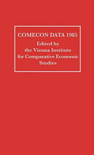 COMECON Data 1985: Vienna