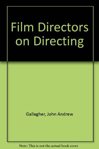9780313262272: Film Directors on Directing (Contributions to the study of popular culture)