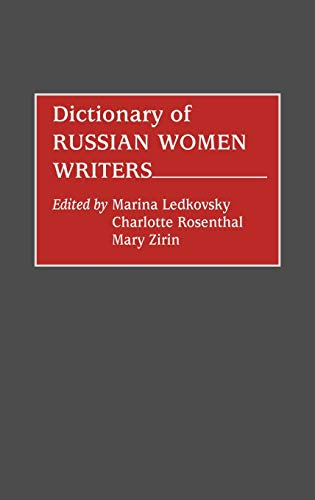 9780313262654: Dictionary of Russian Women Writers