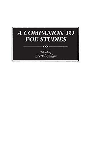 9780313265068: A Companion to Poe Studies: