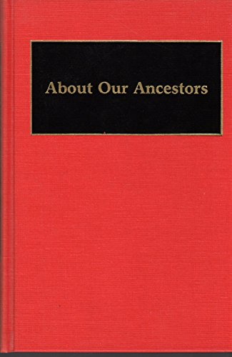 9780313265525: About our Ancestors: Japanese Family System (Documentary Reference Collections)
