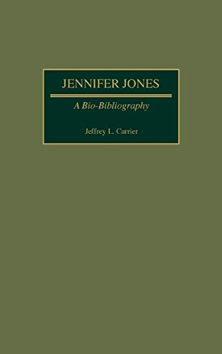 9780313266515: Jennifer Jones: A Bio-Bibliography