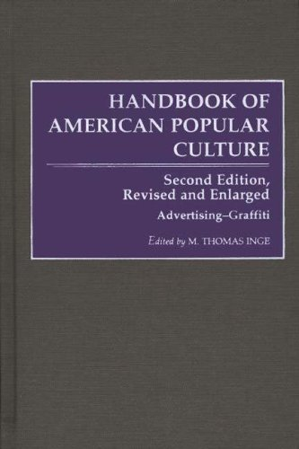 9780313272417: Handbook of American Popular Culture, Vol. 1: Advertising-The Western