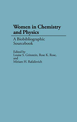 9780313273827: Women in Chemistry and Physics: A Biobibliographic Sourcebook