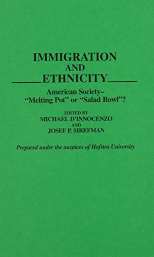 9780313277597: Immigration and Ethnicity: American Society--Melting Pot or Salad Bowl? (Contributions in Sociology)