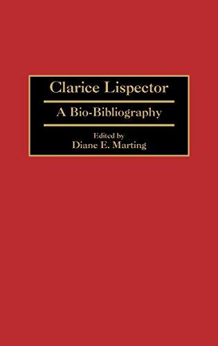 0e5fb014e Clarice Lispector   A Bio-Bibliography  Diane E. Marting