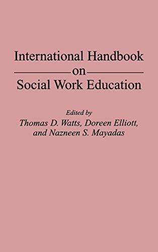 9780313279157: International Handbook on Social Work Education