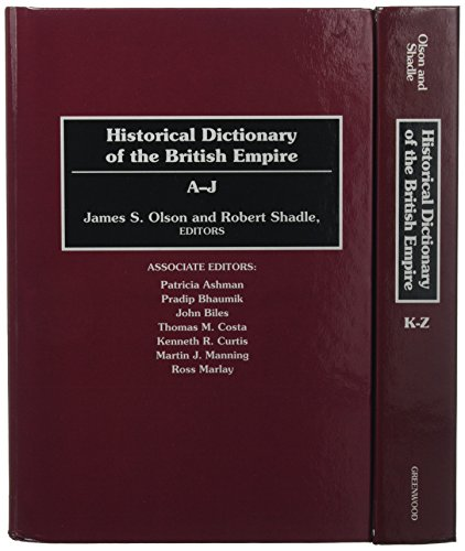 9780313279171: Historical Dictionary of the British Empire [2 volumes]