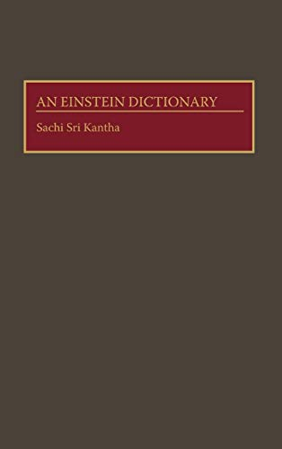 9780313283505: An Einstein Dictionary (Jossey-Bass Business and Management)