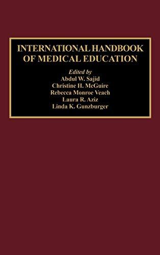 9780313284236: International Handbook of Medical Education:
