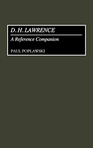 9780313286377: D. H. Lawrence: A Reference Companion (Contributions to the Study of)