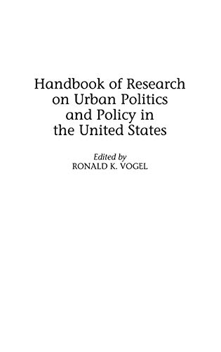 9780313291661: Handbook of Research on Urban Politics and Policy in the United States
