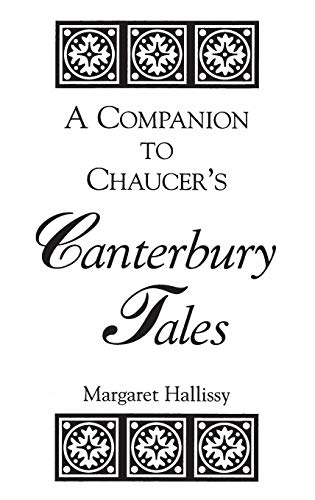 9780313291890: A Companion to Chaucer's Canterbury Tales