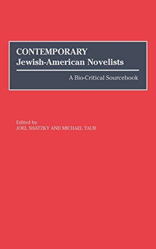 9780313294624: Contemporary Jewish-American Novelists: A Bio-Critical Sourcebook