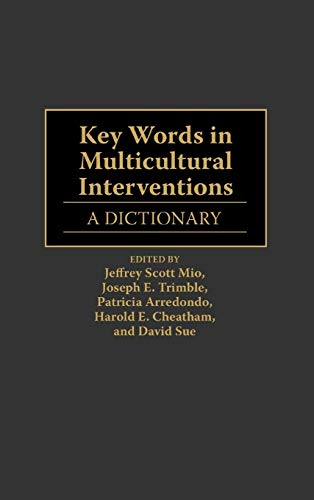 9780313295478: Key Words in Multicultural Interventions: A Dictionary