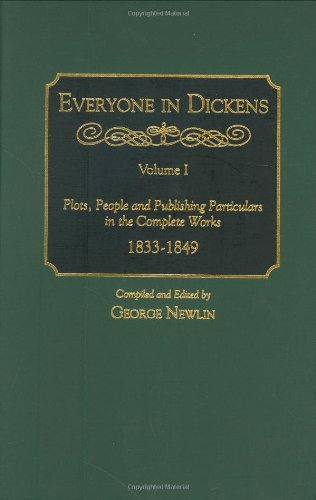9780313295805: Everyone in Dickens [3 volumes]