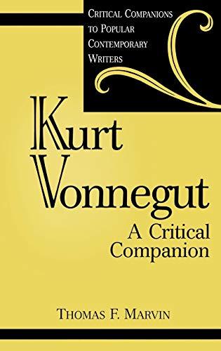 9780313314391: Kurt Vonnegut: A Critical Companion (Critical Companions to Popular Contemporary Writers)