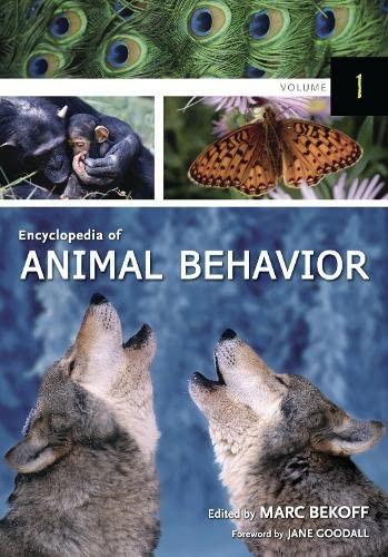 9780313327452: Encyclopedia of Animal Behavior (3 Vol. Set)
