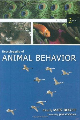 Encyclopedia Of Animal Behavior, Vol. 2: D-P