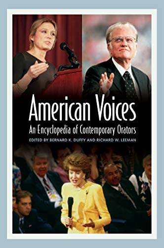 9780313327902: American Voices: An Encyclopedia of Contemporary Orators