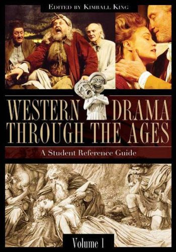 9780313329340: Western Drama through the Ages [2 volumes]: A Student Reference Guide