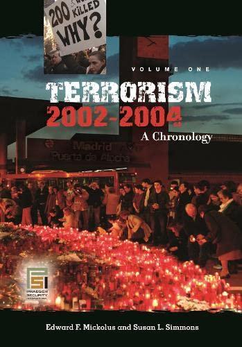 9780313334740: Terrorism, 2002-2004 [3 volumes]: A Chronology (Praeger Security International)