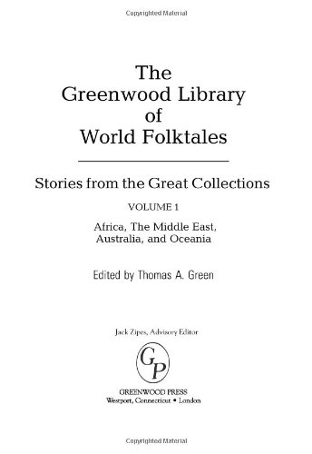 9780313337833: The Greenwood Library of World Folktales [4 volumes]: Stories from the Great Collections