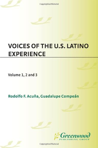 9780313340208: Voices of the U.S. Latino Experience [3 volumes]