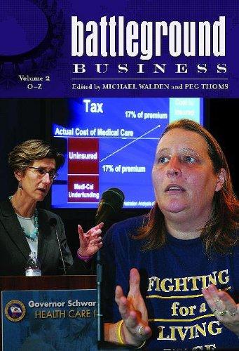 9780313340673: Battleground: Business: Volume 2: O-Z