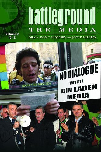 9780313341694: Battleground: The Media: Volume 2: O-Z