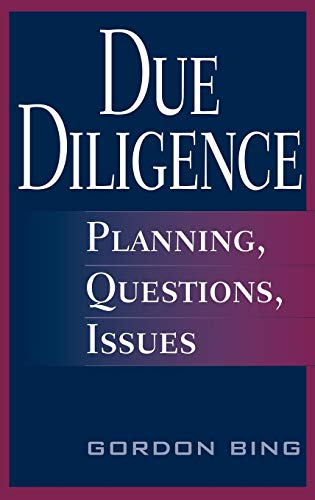 9780313345401: Due Diligence: Planning, Questions, Issues