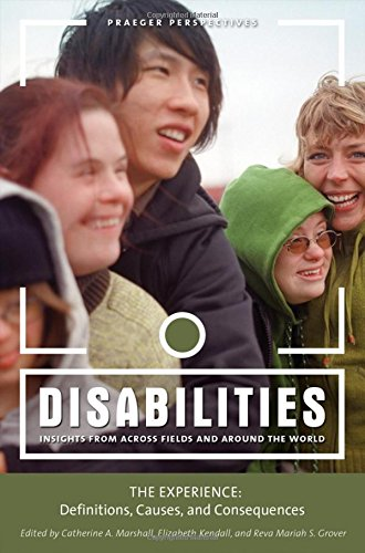 9780313346040: Disabilities: Insights from Across Fields and Around the World (3 Volume Set)
