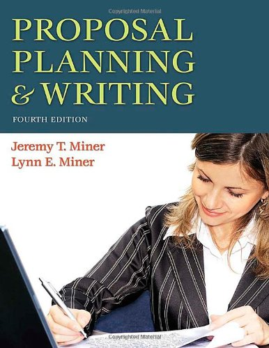 9780313356582: Proposal Planning & Writing, 4th Edition