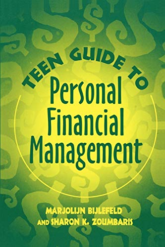 9780313360923: Teen Guide to Personal Financial Management