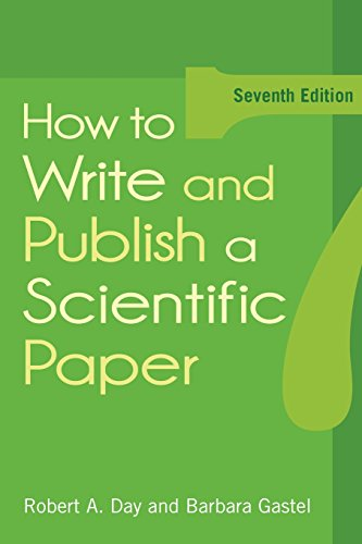 9780313391972: How to Write and Publish a Scientific Paper
