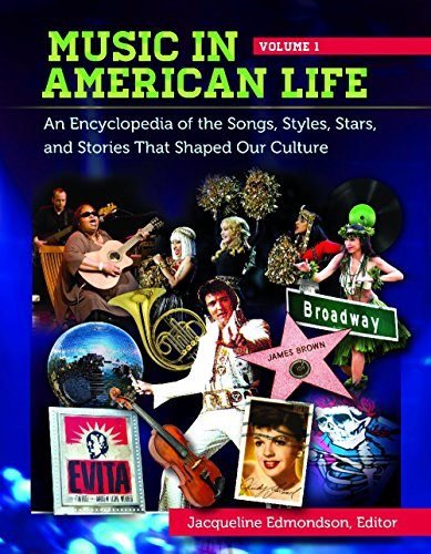 9780313393471: Music in American Life [4 volumes]: An Encyclopedia of the Songs, Styles, Stars, and Stories That Shaped Our Culture