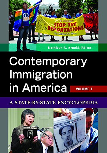 9780313399176: Contemporary Immigration in America [2 volumes]: A State-by-State Encyclopedia