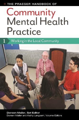 9780313399534: The Praeger Handbook of Community Mental Health Practice [3 volumes]