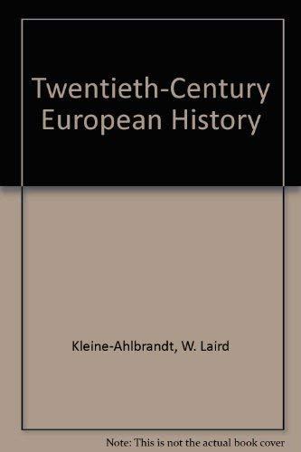 9780314000064: Twentieth-Century European History