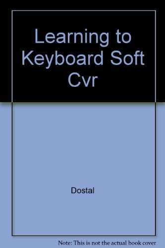9780314000729: Learning to Keyboard, Soft Cvr