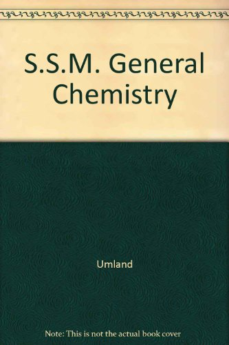 S.S.M. General Chemistry