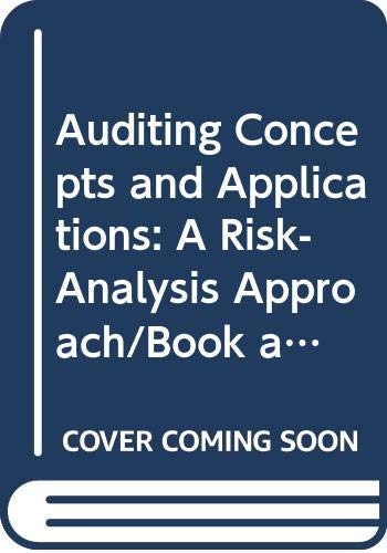 Auditing Concepts and Applications: A Risk-Analysis Approach/Book: Konrath, Larry F.