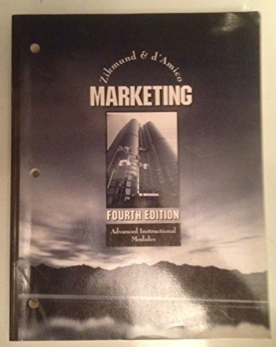 9780314011329: Marketing 4e